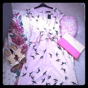 Blush Ruffled Sparrow Dress